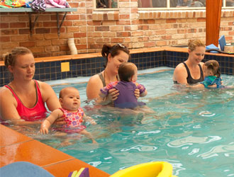 Only 3 children to a class at Shapland Swim Schools